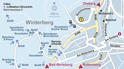 Plattegrond Winterberg
