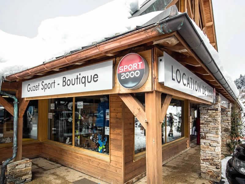 Skiverhuur winkel GUZET SPORT, Résidence du Vallier - USTOU in Guzet Neige