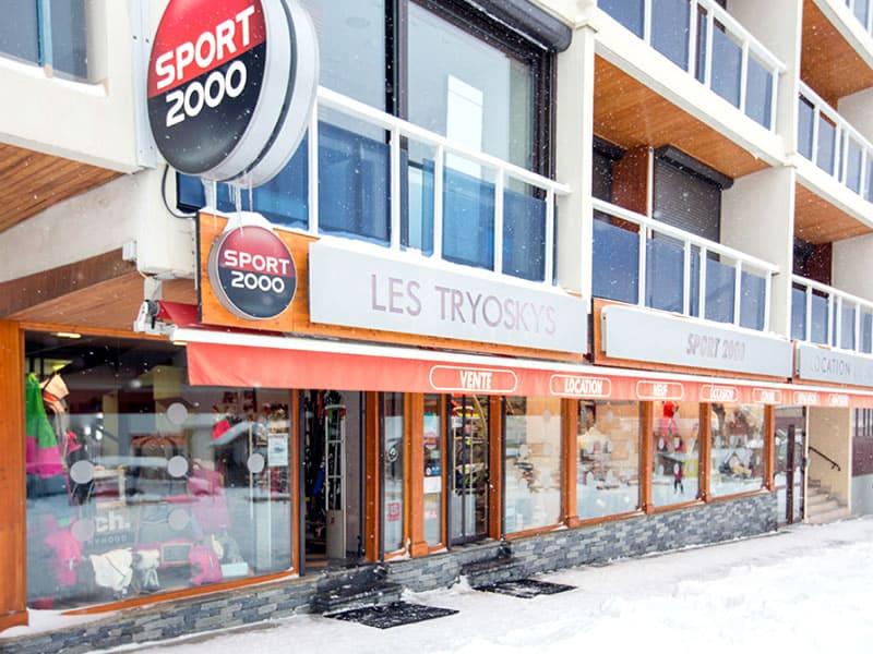Skiverhuur winkel LES TRYOSKYS, Résidence L'Ouillon in La Toussuire