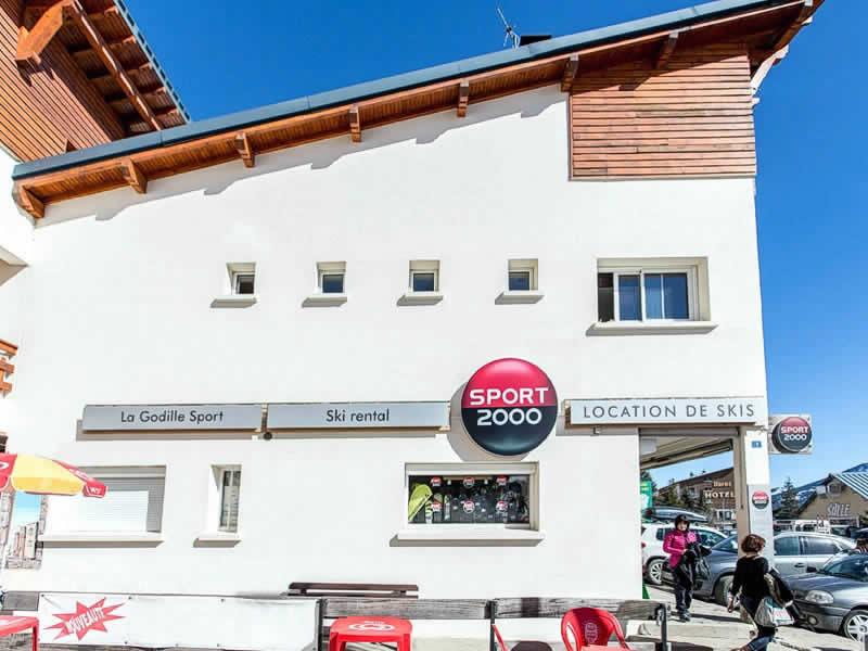 Skiverhuur winkel LA GODILLE SPORT, Résidence la Matte, Avenue de Balcere in Les Angles