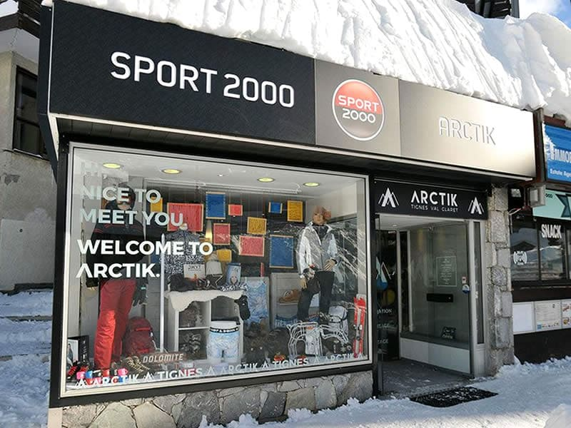 Skiverhuur winkel ARCTIK, Résidence Le Grand Tichot - Val Claret Centre in Tignes Val Claret