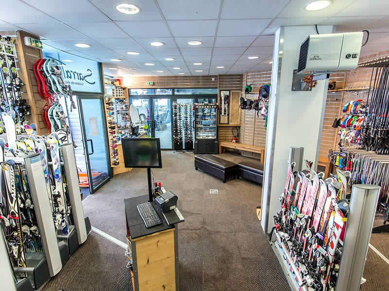 Skiverhuur winkel SARRAT SPORT BALESTAS, Résidence le Louron - Quartier Balestas in Peyragudes