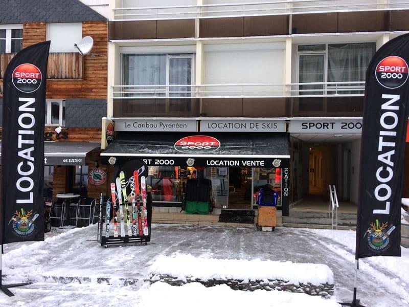 Skiverhuur winkel LE CARIBOU PYRENEEN, Résidence Les Arcizettes in Gourette
