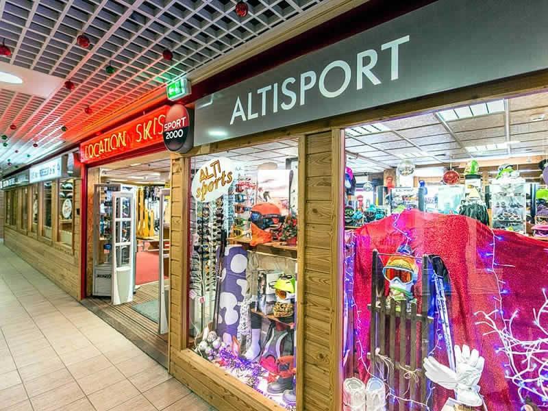 Skiverhuur winkel ALTI SPORT, Résidence Mongie Tourmalet in La Mongie