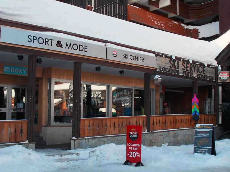 Skiverhuur winkel SPORT 2000 OURS BLANC, Résidence Pierre et Vacances - Galerie de l'Ours Blanc in Alpe d'Huez