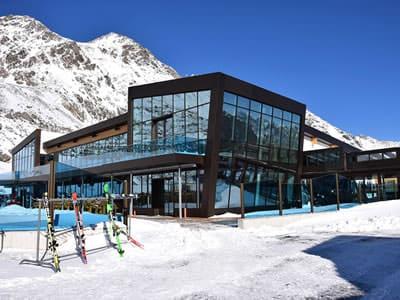 Skiverhuur winkel Sport-Shop, Sölden in Rettenbach Gletscher [Direkt beim Restaurant]