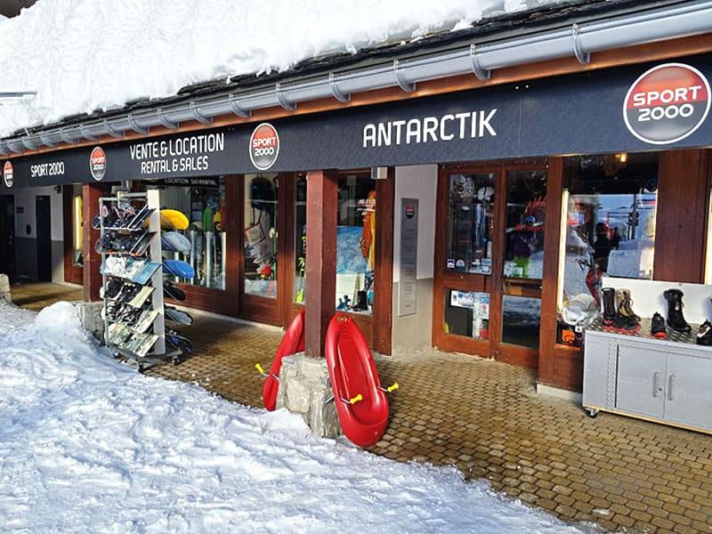 Skiverhuur winkel ANTARCTIK, Rond Point Des Pistes in Tignes Val Claret
