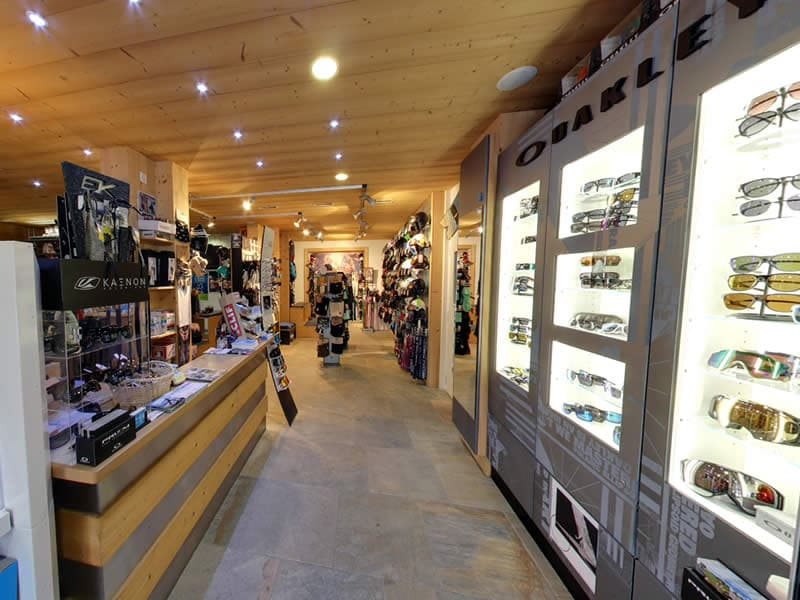 Skiverhuur winkel Snowline, Route de France 22 in Morgins