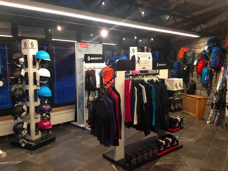Skiverhuur winkel Happy Sport, Route de Verbier 22 in Le Châble