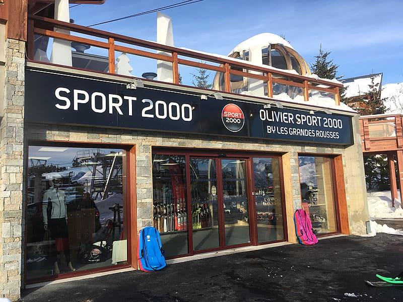 Skiverhuur winkel OLIVIER SPORTS, Route du Signal (centre station) in Alpe d'Huez