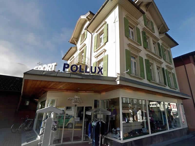 Skiverhuur winkel Pollux Sport, Rudenz 32 in Meiringen