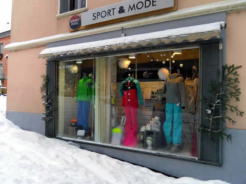 Skiverhuur winkel GRANGEOT SPORT, Rue Clovis Hugues in Embrun