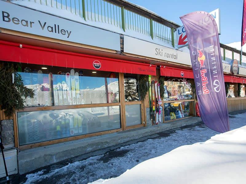 Skiverhuur winkel BEAR VALLEY, Rue des Ecrins - Centre Station in Orcieres Merlettes