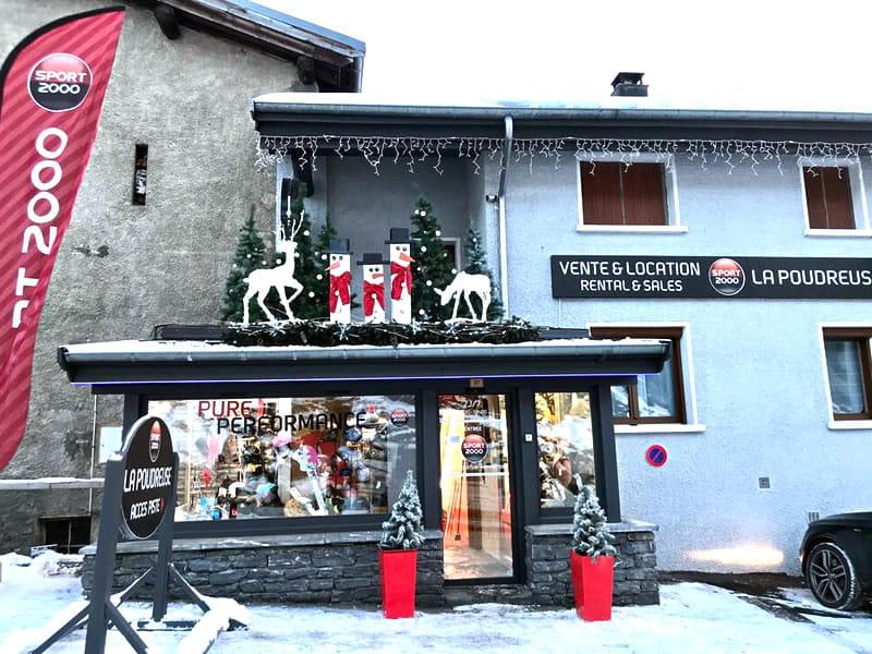 Skiverhuur winkel LA POUDREUSE, Rue des Rochers in Lanslevillard Val Cenis