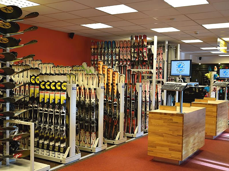 Skiverhuur winkel ETC Sport, Rychorske sidliste 146 in Svoboda nad Upou