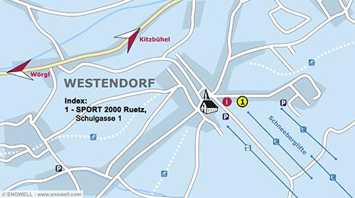 Plattegrond Westendorf