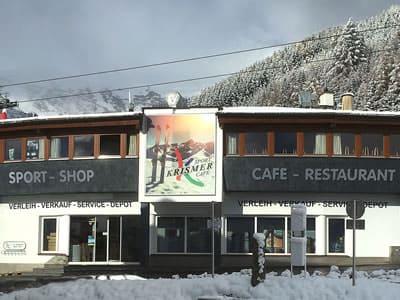 Skiverhuur winkel Sport Krismer, Fiss in Seilbahnstrasse 38