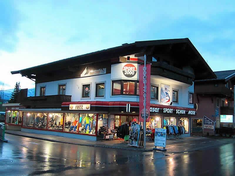 Skiverhuur winkel SPORT 2000 Glaser, Sigmund-Thun-Strasse 20 in Kaprun