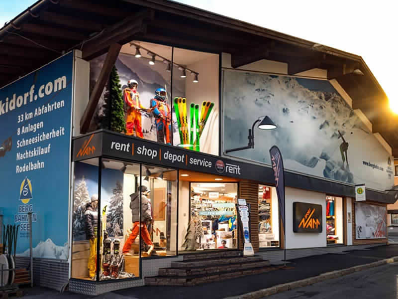 Skiverhuur winkel Sporthaus Narr, Silvrettastrasse 178 in See im Paznaun