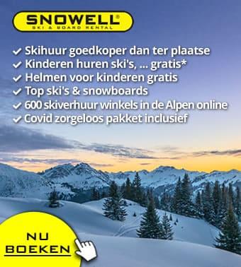 Nu: Gratis annulering en omboeking ❄️👍🏻❄️ voor alle boekingen voor winter 2021/2022 ❄️👍🏻❄️ skiverhuur online met SNOWELL