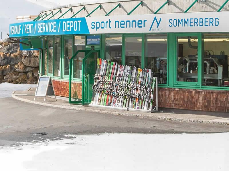 Skiverhuur winkel Sport Nenner - Sommerbergshop, Sommerbergalm - 1. Sektion 2100m in Hintertux