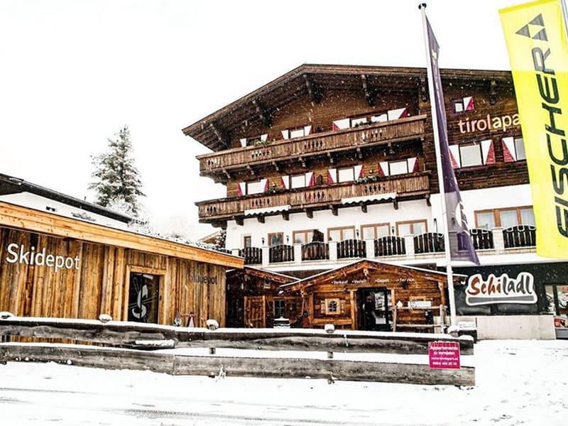Skiverhuur winkel Schiladl, Sonnfeldweg 1 in Jochberg