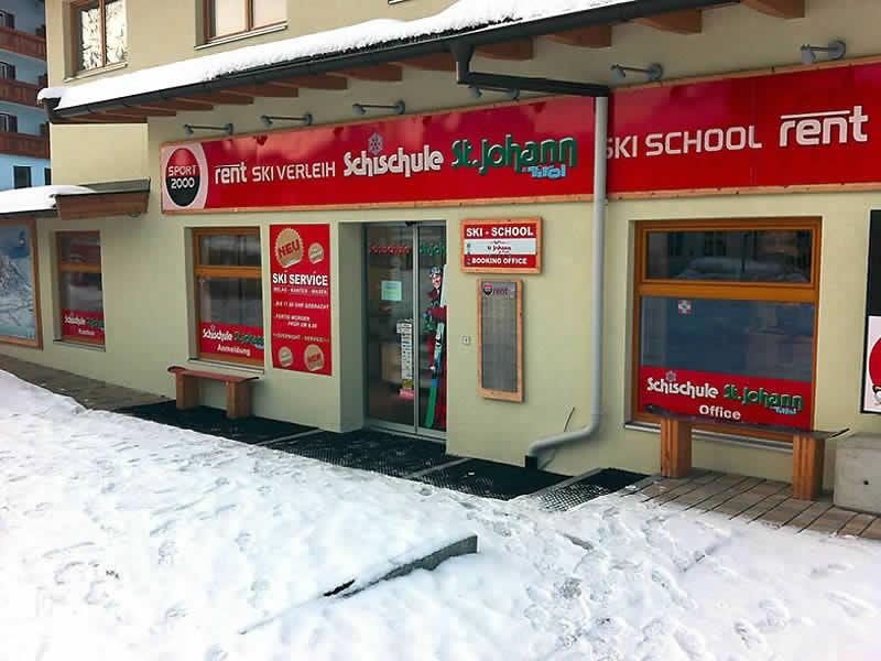 Skiverhuur winkel Skiverleih - Skischule St. Johann, Speckbacherstrasse 41a in St. Johann i. Tirol