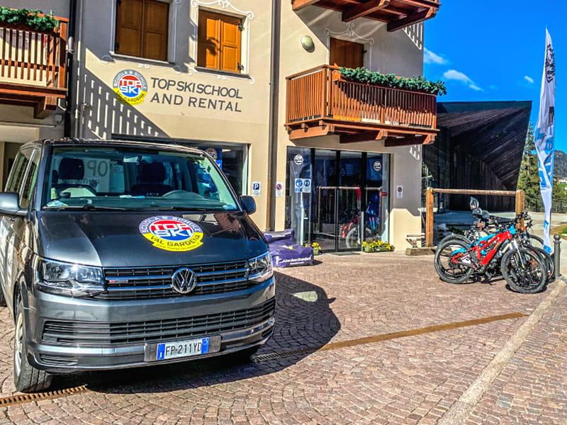 Skiverhuur winkel Top Ski Rental, Streda Meisules 104 in Wolkenstein-Selva Gardena