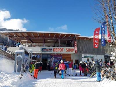 Skiverhuur winkel Hofherr Sport, Lermoos in Talstation Grubigsteinbahn - Juch 3