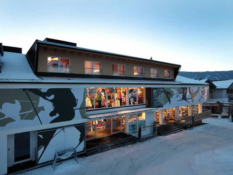 Skiverhuur winkel Sport Lentsch - Sport vor Ort, Talstation Hochzeigerbahn Jerzens in Wenns im Pitztal