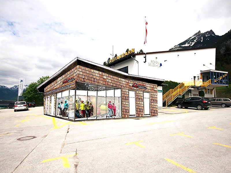 Skiverhuur winkel WW SPORT 2000 Wörndle, Talstation Rofan Seilbahn - Achenseestrasse 10 in Maurach