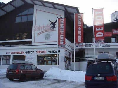 Skiverhuur winkel SPORT 2000 Ski Sport Salvista, Itter in Talstation Salvista Gondelbahn