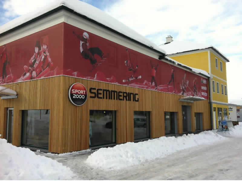 Skiverhuur winkel SPORT 2000 Puschi, Talstation Übungslift Passhöhe in Semmering