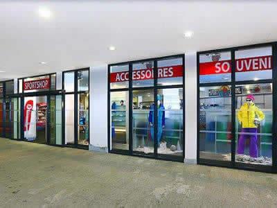Skiverhuur winkel Sport-Shop, Sölden in Tiefenbach Gletscher [Direkt beim Restaurant]