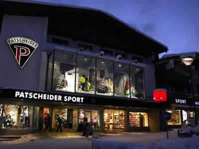Skiverhuur winkel Sport Patscheider, Serfaus in Untere Dorfstrasse 27