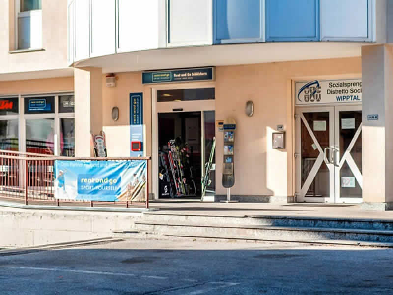 Skiverhuur winkel Rent and Go Rosskopf, Via Brennero 14/c in Sterzing