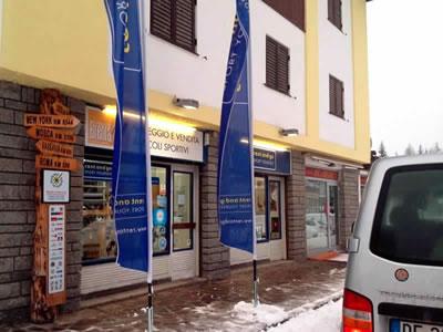 Skiverhuur winkel Noleggio del Brenta Campiglio Nord, Madonna di Campiglio in Via Cima Tosa, 87