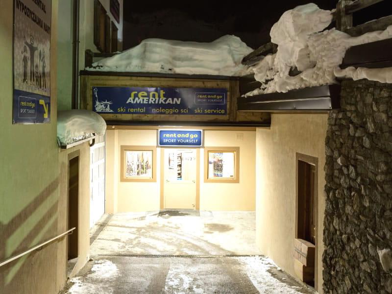 Skiverhuur winkel Rent and Go Amerikan, Via Florin, 74 in Livigno