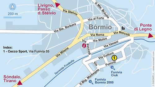 Plattegrond Bormio