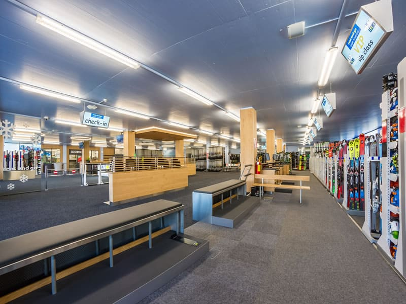 Skiverhuur winkel Rentasport Kronplatz, Via Funivia/Seilbahnstrasse 12b in Bruneck/Reischach
