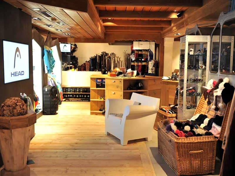 Skiverhuur winkel Vertex Sports, Viktoriastrasse 2 in Gstaad