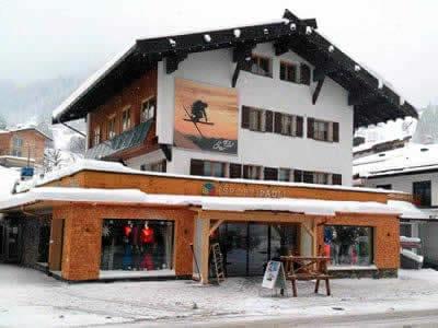 Skiverhuur winkel Sport Pauli, Kleinwalsertal - Hirschegg in Walserstrasse 270