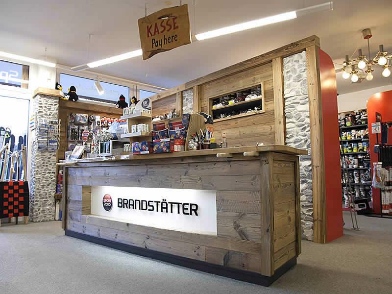Skiverhuur winkel SPORT 2000 Brandstätter, Weng 149 - Talstation Ikarus in Werfenweng